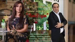 Manaf Ağayev & Arzu Qarabağlı - İtən Eşqim 2018 MP3